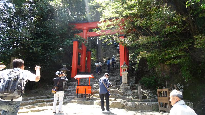 神倉神社参道入り口