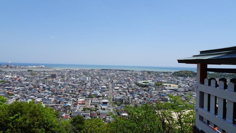 神倉神社頂上