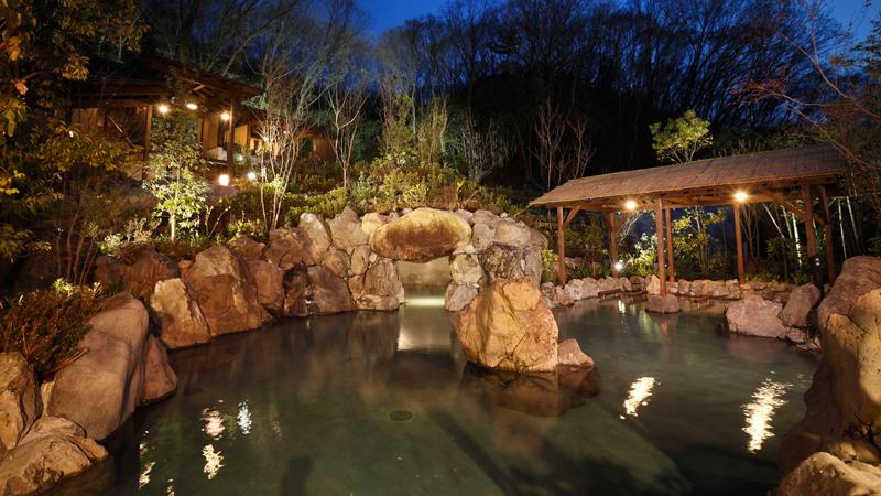 ネスタリゾート神戸のイルミネーション 「ネスタイルミナ」 温泉